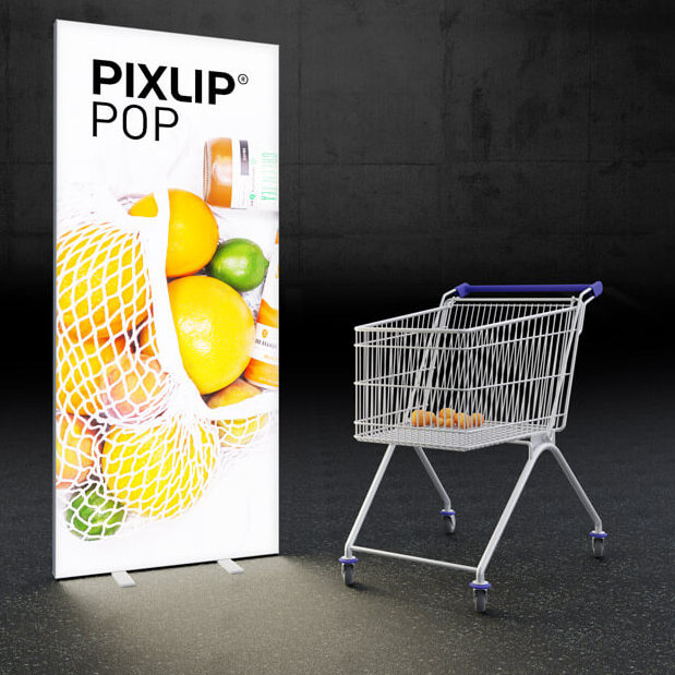 LED Rollup - Glet.bewegt - Pixlip Pop